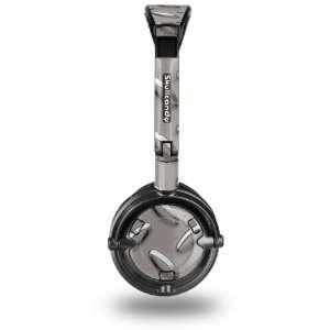 Skullcandy Lowrider Headphone Skin   Diamond Plate Metal