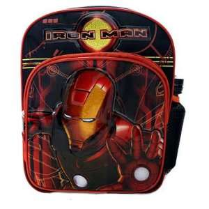 Marvel Iron Man Mini Backpack With Water Bottle Toys