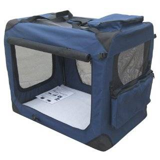 Pet Gear Home N Go Soft Sided Pet Crate, Medium, Blue Sky