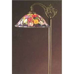 Tiffany Style Stained Glass Bridge Floor Lamp FB1415