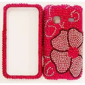Samsung Galaxy M828c Precedent Straight Talk Pink Flower