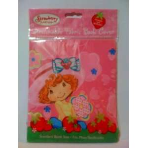 Strawberry Shortcake Stretchable Fabric Book Cover