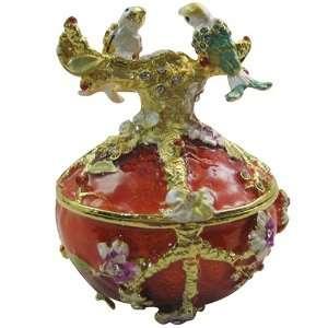 box   Bejeweled Swarovski Crystal diamond Jewelry Trinket Box (JF1530