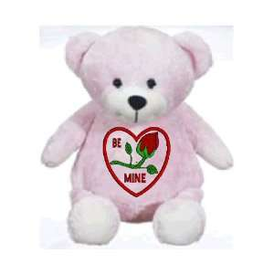 Stuffed teddy bear with personalized personalized custom