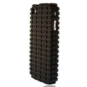 UD Tire Trax Design Case for Apple iPhone 4 / 4G (Black
