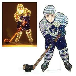 Toronto Maple Leafs Lighted Lawn Figure: Sports & Outdoors