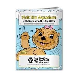 CB1058    Coloring and Activity Book   Visit the Aquarium