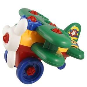 Colorful Plastic Detachable Airplane Helicopter Toy: Toys & Games