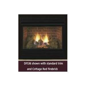 DFS32PVC 32 Vent Free Propane Gas Fireplace