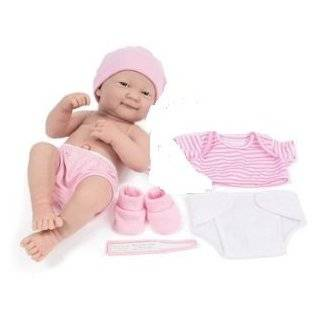 Berenguer La Newborn Nursery Doll with Clothes & Shoes, 14, Baby Doll