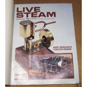 Live Steam Magazine September 1980 (Volume 14, Number 9