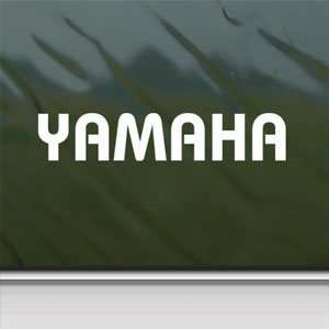 YAMAHA White Sticker Atv R1 R6 Car Laptop Vinyl Window