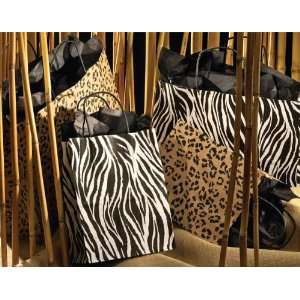 Black and White ZEBRA Paper Gift Bags set of 6 *Great