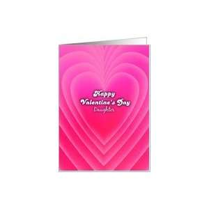 happy valentines Day, daughter, love background Card