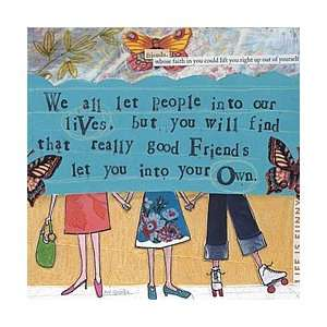 Curly Girl   REALLY GOOD FRIENDS   NAPKIN