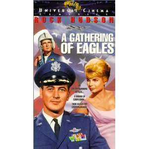 A Gathering of Eagles [VHS]: Rock Hudson, Rod Taylor, Mary