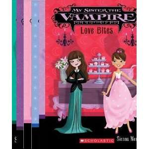 My Sister the Vampire Series Collection of Books 1 6 in