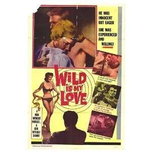 Wild Is My Love Original Movie Poster, 27 x 41 (1968