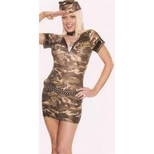 Army Girl Costume S/M/L/X L