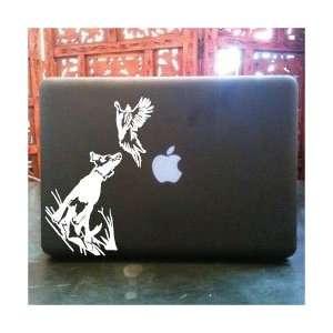 Bird dog laptop skin vinyl decal