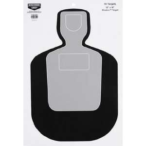 Scorer 12x18 BC19 10 Sheet Pack (Targets & Throwers) (Paper Targets