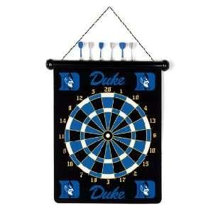 DUKE BLUE DEVILS Magnetic DART BOARD SET with 6 Darts (15