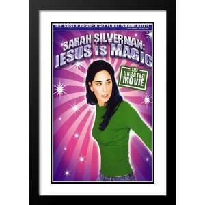 Sarah Silverman Jesus Magic 32x45 Framed and Double Matted Movie