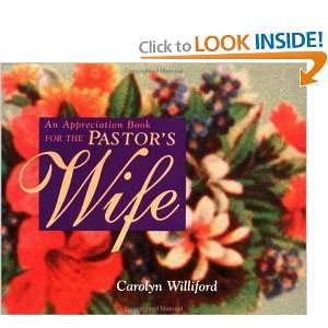 An Appreciation Book for the Pastors Wife (9780877886099