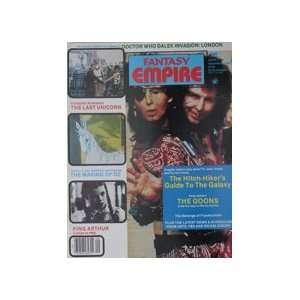 Dr. Who Cover Fantasy Empire Magazine #13 Sept.1984
