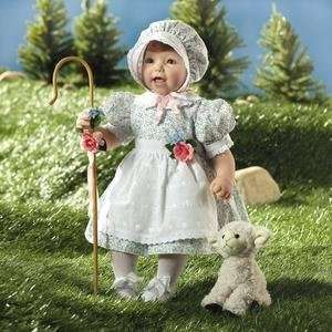 Lee Middleton Dolls 2161 Little Bo Peep: Toys & Games