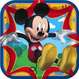 Lets Party By Hallmark Disney Mickey Fun and Friends Square Dinner