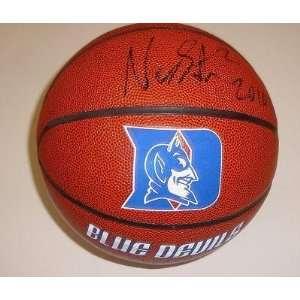 Nolan Smith Signed Duke Blue Devils Basketball w/Proof