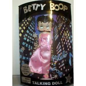 Betty Boop Talking Doll (Pink Evening Gown) Toys & Games