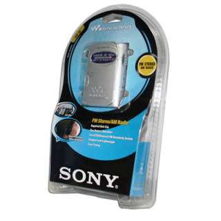 Sony SRF 59 AM/FM Walkman Radio  Brand New in Retail Packaging