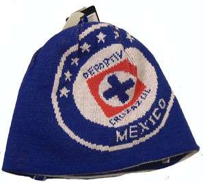 Official Cruz Azul Soccer Beanie cap Mexico Soccer FMF