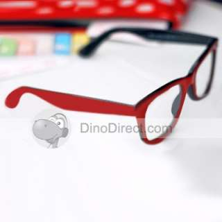 Retro Two Tone Full Rim Non MainStream Plank Eyeglass Frame
