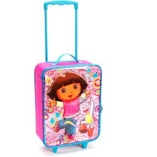 Dora Kids Rolling Luggage Case: Luggage