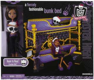 Monster high dead tired dolls pajama sleep over party - Clawdeen wolf pyjama party ...