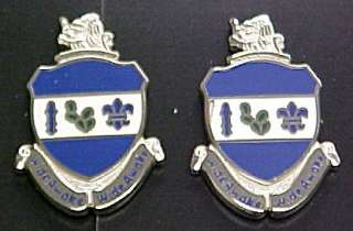 151st Infantry Army National Guard Indiana Distinctive Unit Insignia