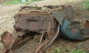 1940 Chevy Chevrolet Convertible parts car Rat Hot Rod