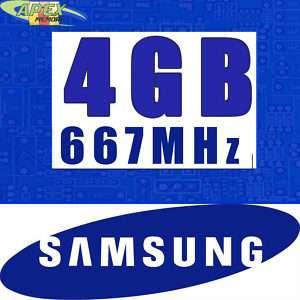 4GB RAM SAMSUNG MEMORY 5 TOSHIBA TECRA A6 A7 A8 A9 A10