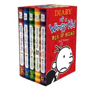 Diary of a Wimpy Kid Box of Books (1 5) (9781419701535