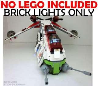 Lego BRICK LIGHT Star Wars Republic Attack Gunship 7676