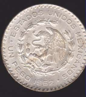 LARGE EXOTIC MEXICAN SILVER COIN PESO, HUGE BEAUTY SILVER COIN!