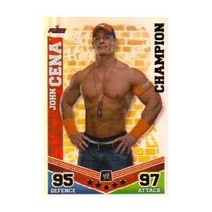 WWE Slam Attax Mayhem CHAMPION 003 John Cena: .co.uk: Toys