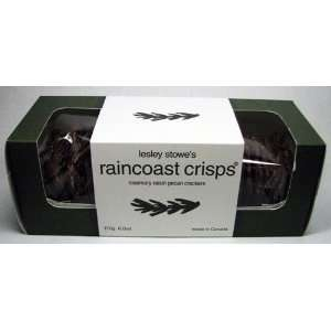 Lesley Stowes Raincoast Crisps Rosemary Raisin Pecan Crackers 6.0 Oz