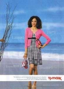 2008 TJ Maxx Womens Clothing Magazine Ad