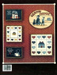 Tole Painting Pattern Book~A WOODLET SAMPLER~Joan Youngberg