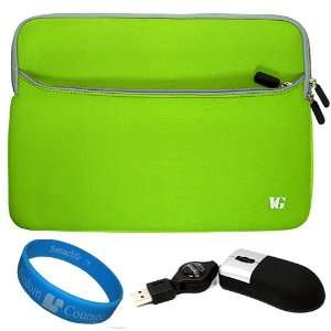 Durable Protective Neoprene Laptop Sleeve for Fujitsu 12.1 inch Laptop