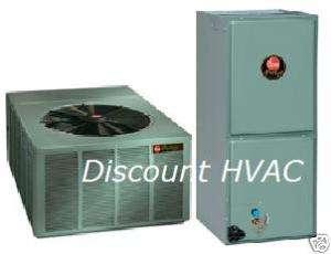 Ton Rheem 15.5 SEER Heat Pump System